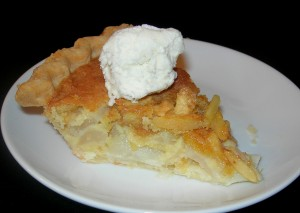 Almond Pear Pie