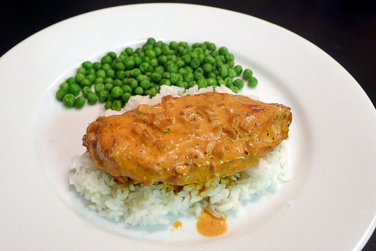 Chicken with Paprika Cream Sauce
