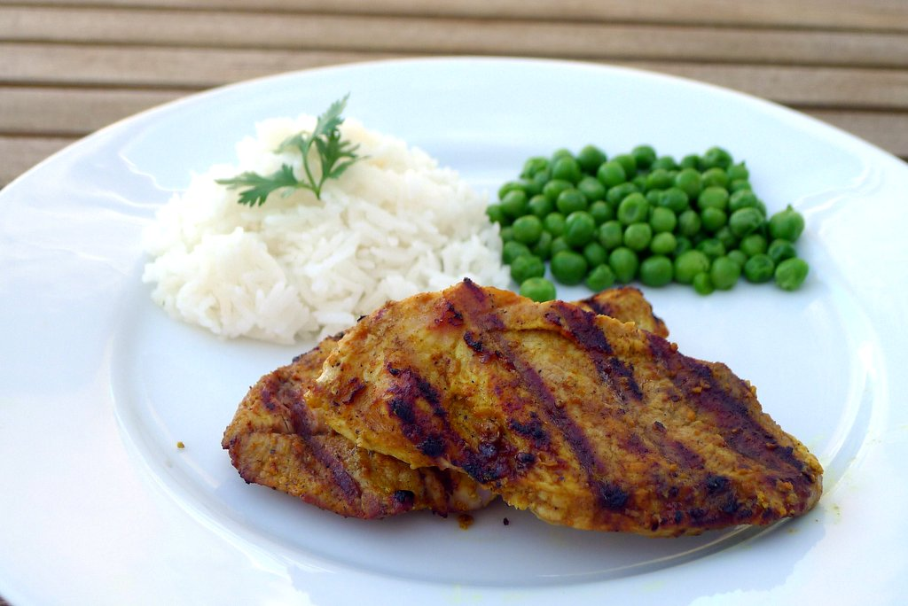 Tandoori Grilled Pork